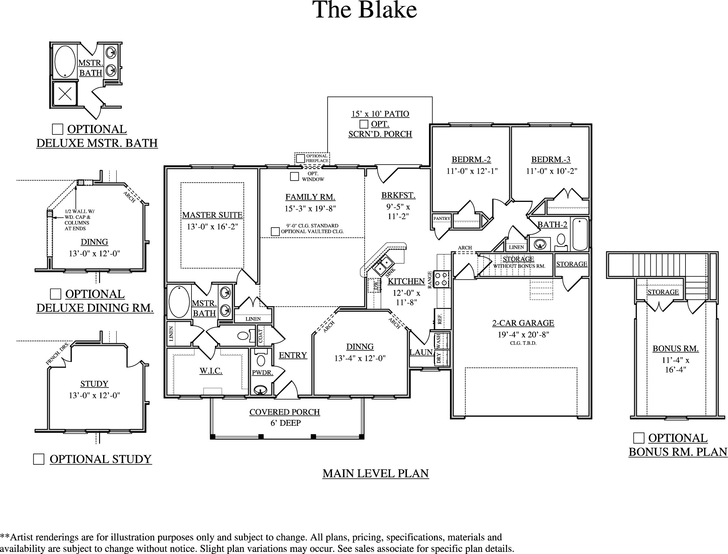 Single Family for Sale at Somerset Point At Lady's Island-Blake A With Bonus Room 5 Osprey Drive Beaufort, South Carolina 29907 United States