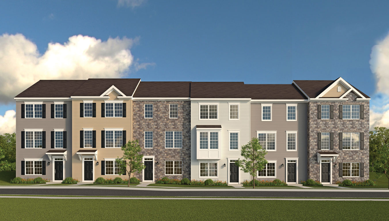 Single Family for Sale at Myrtle Ridge Townhomes-Arbutus 2713 Theresa Lane Baltimore, Maryland 21227 United States