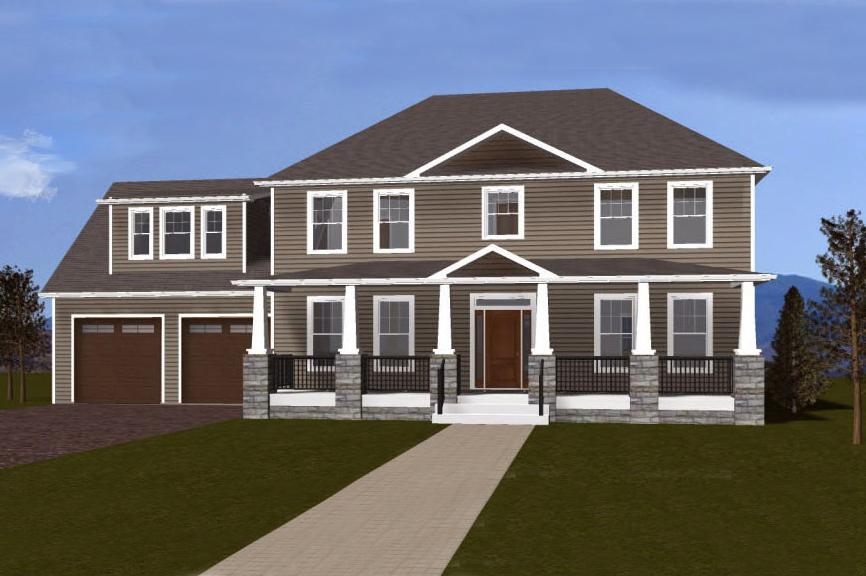 Single Family for Sale at Hyland Ridge-The Maplewood 1750 Hyland Creek Circle Charlottesville, Virginia 22911 United States