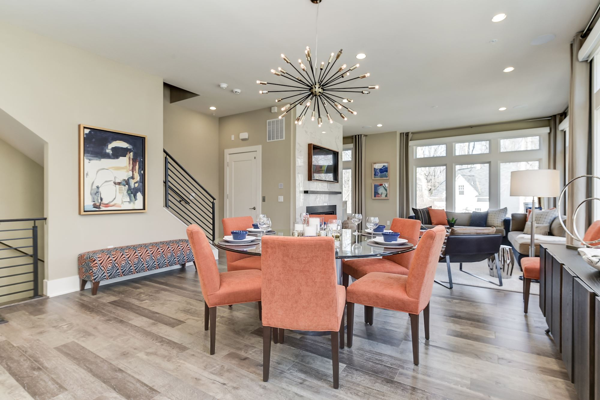 Additional photo for property listing at Grosvenor Heights-The Marshall Townhome 5315 Merriam Street Bethesda, Maryland 20814 United States