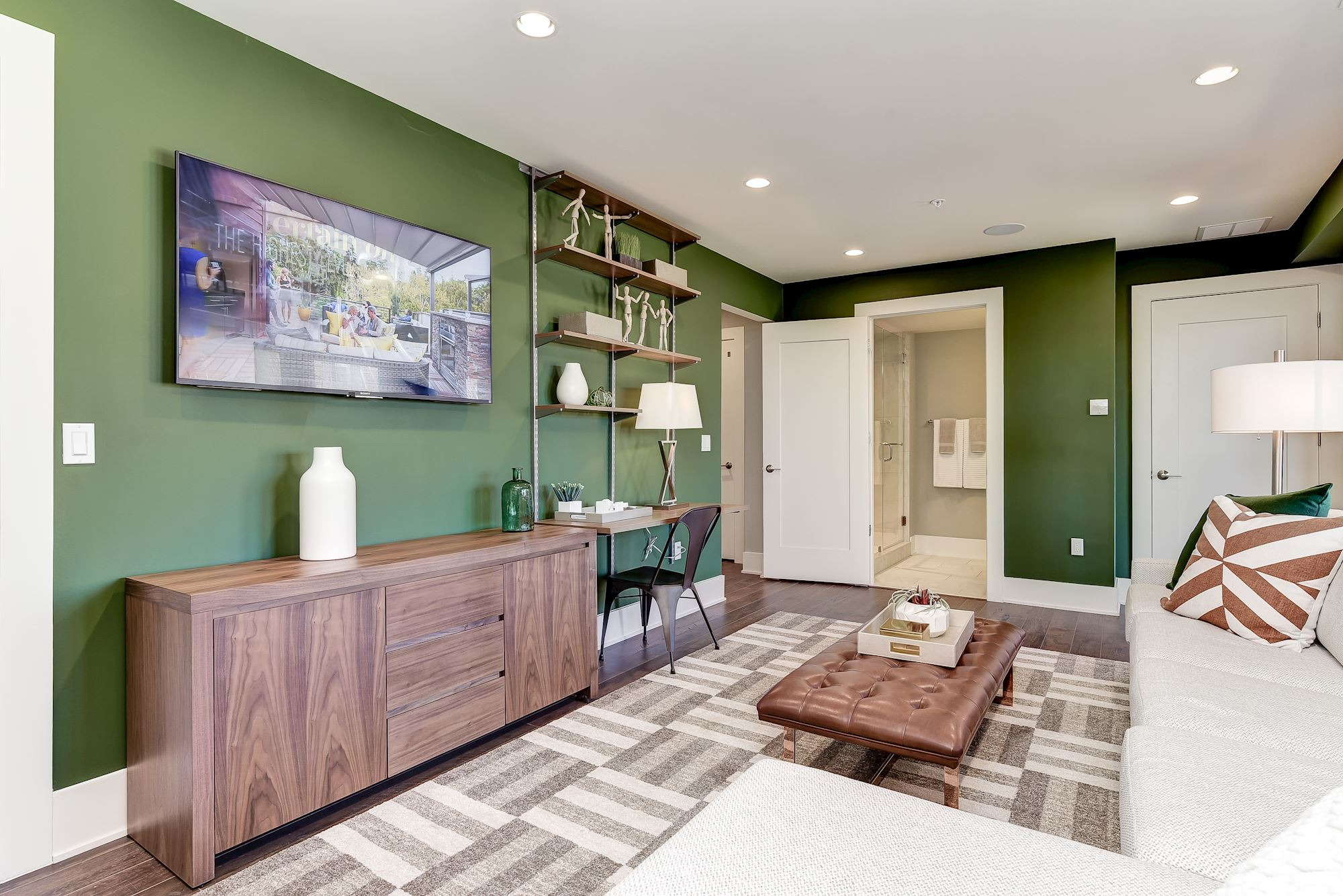 Additional photo for property listing at Grosvenor Heights-The Harrison Townhome 5315 Merriam Street Bethesda, Maryland 20814 United States