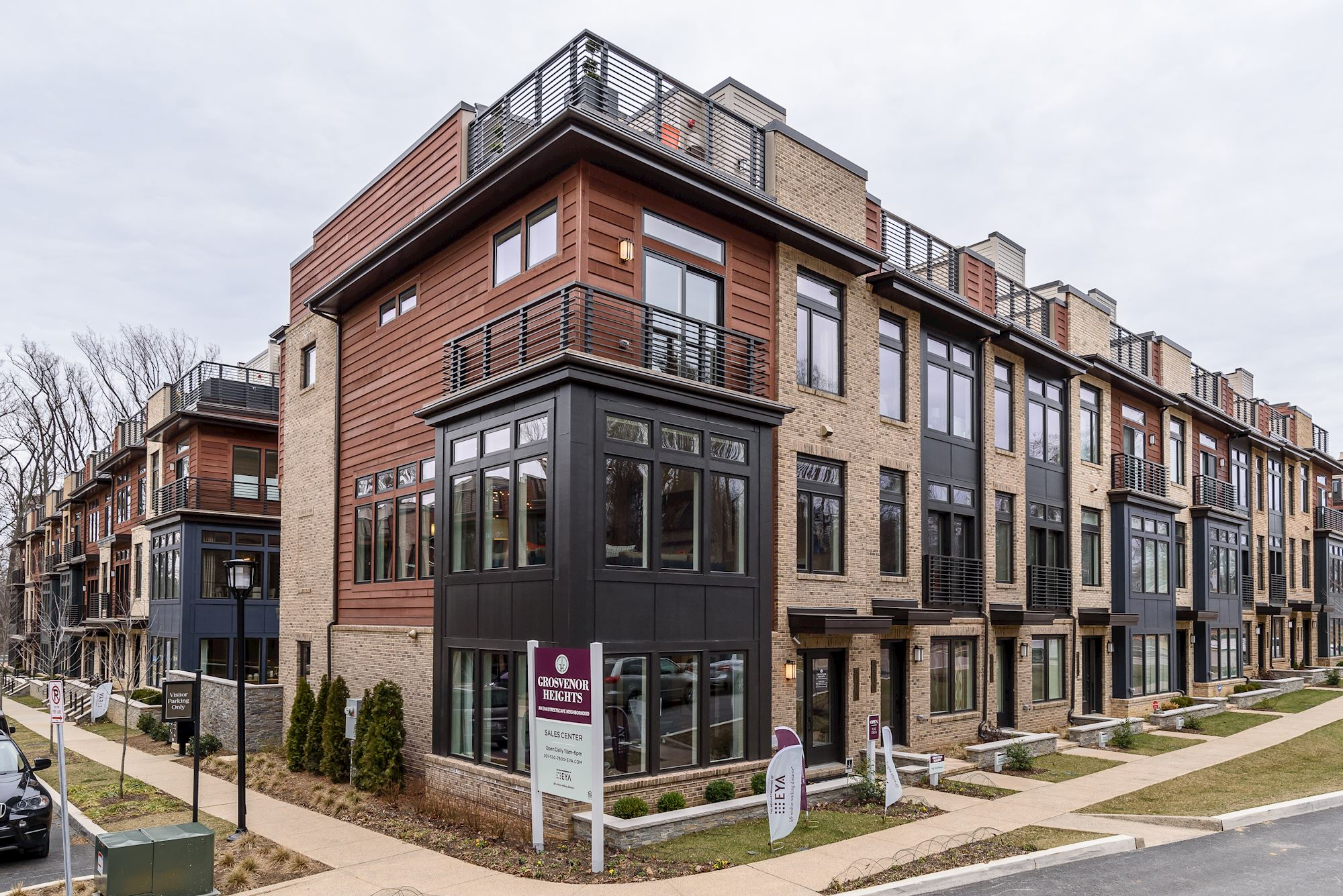 Single Family for Sale at Grosvenor Heights-The Marshall Townhome 5315 Merriam Street Bethesda, Maryland 20814 United States
