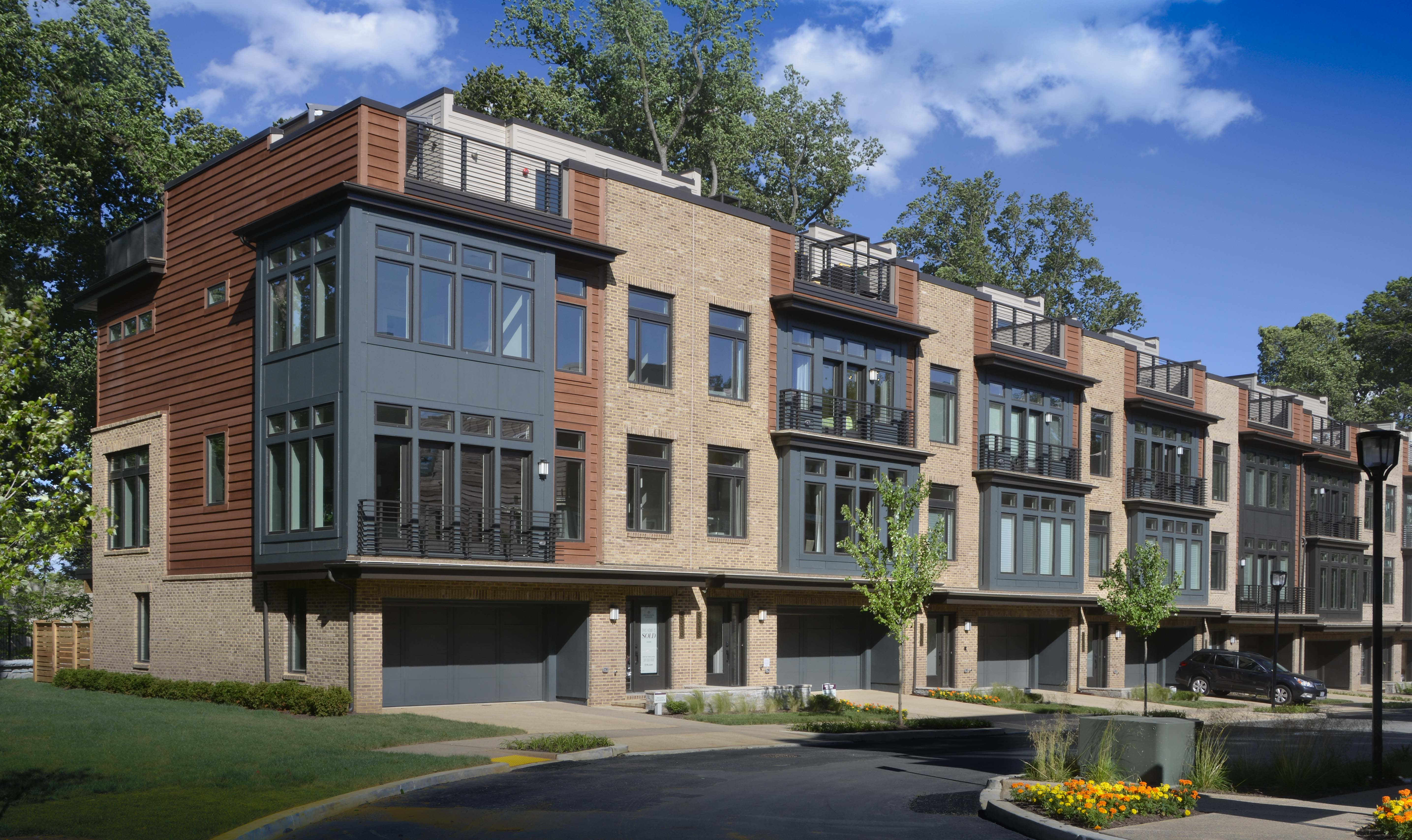 Single Family for Sale at Grosvenor Heights-The Harrison Townhome 5315 Merriam Street Bethesda, Maryland 20814 United States
