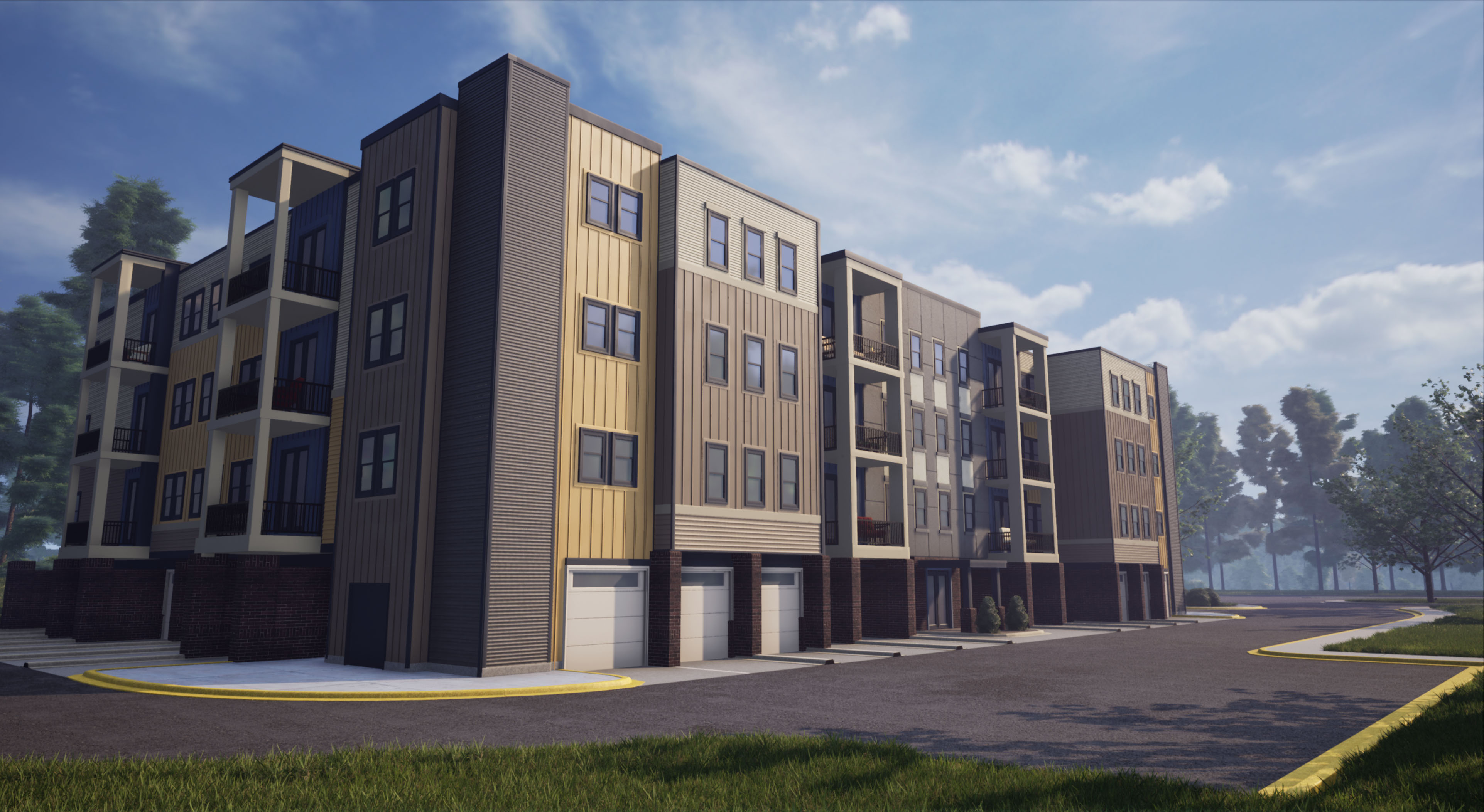 Condominium for Sale at The Signature - Van Metre Homes-Building 1 - The Verdana Ii 43045 Van Metre Drive, Suite 175 Ashburn, Virginia 20148 United States