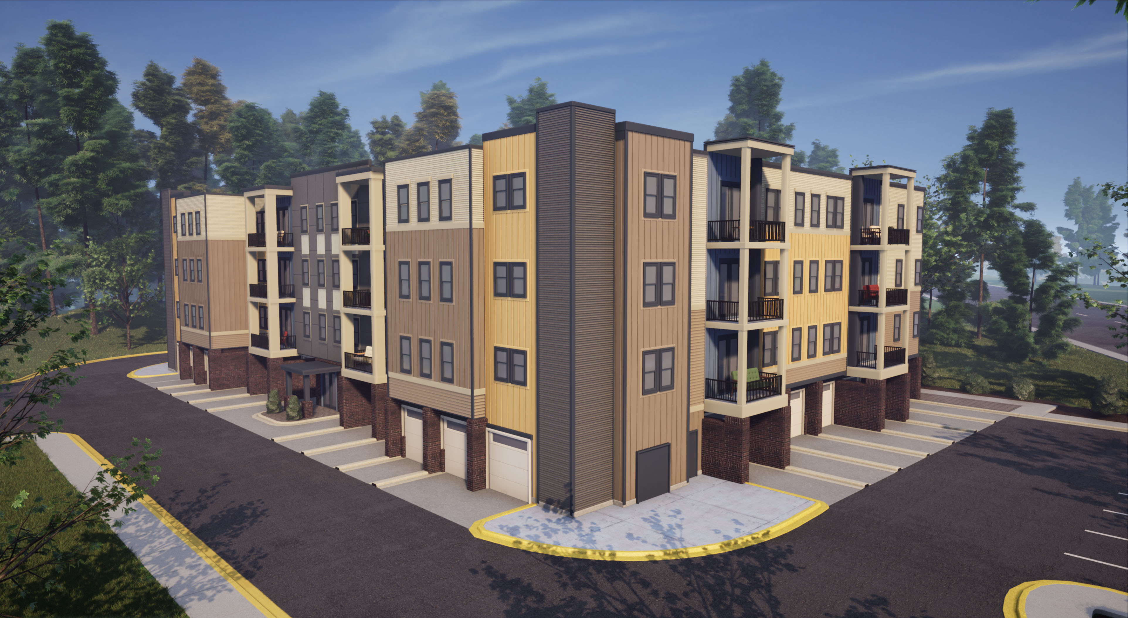 Condominium for Sale at The Signature - Van Metre Homes-Building 1 - The Gill 43045 Van Metre Drive, Suite 175 Ashburn, Virginia 20148 United States