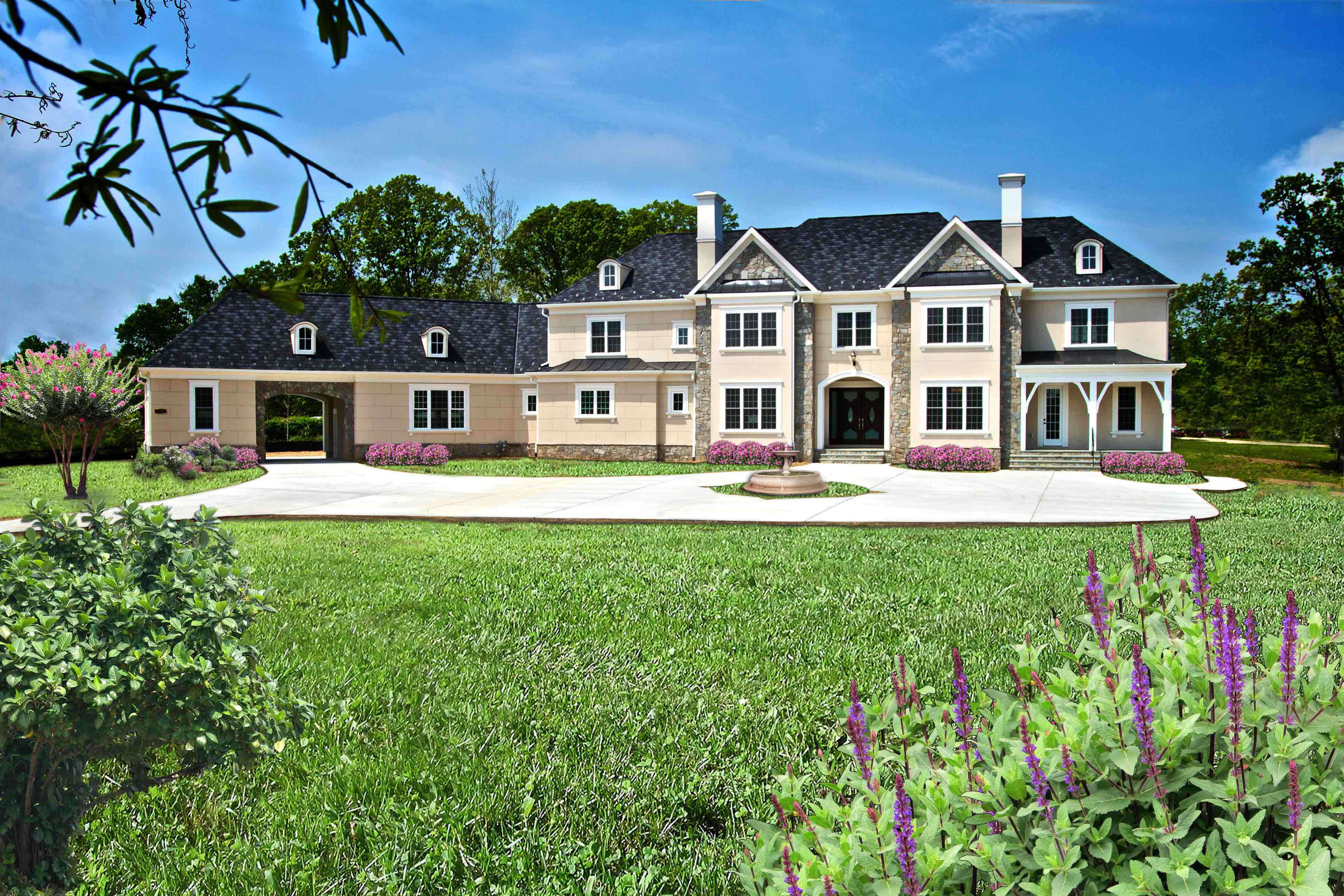 Single Family for Sale at By Botero Homes In Clifton-English Manor Iii -Future Construction Yates Ford Rd Clifton, Virginia 20124 United States