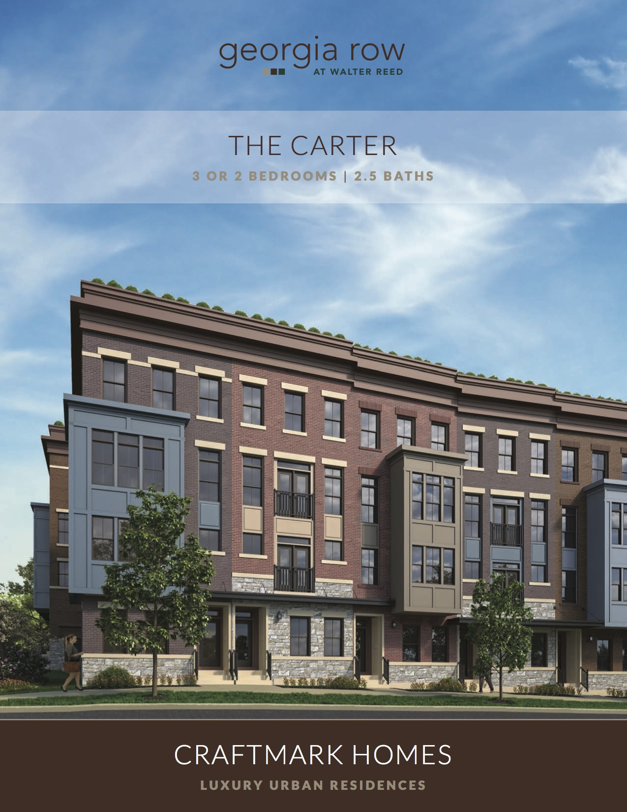 Condominium for Sale at Georgia Row At Walter Reed-The Carter Georgia Ave & Fern Pl NW Washington, District Of Columbia 20012 United States