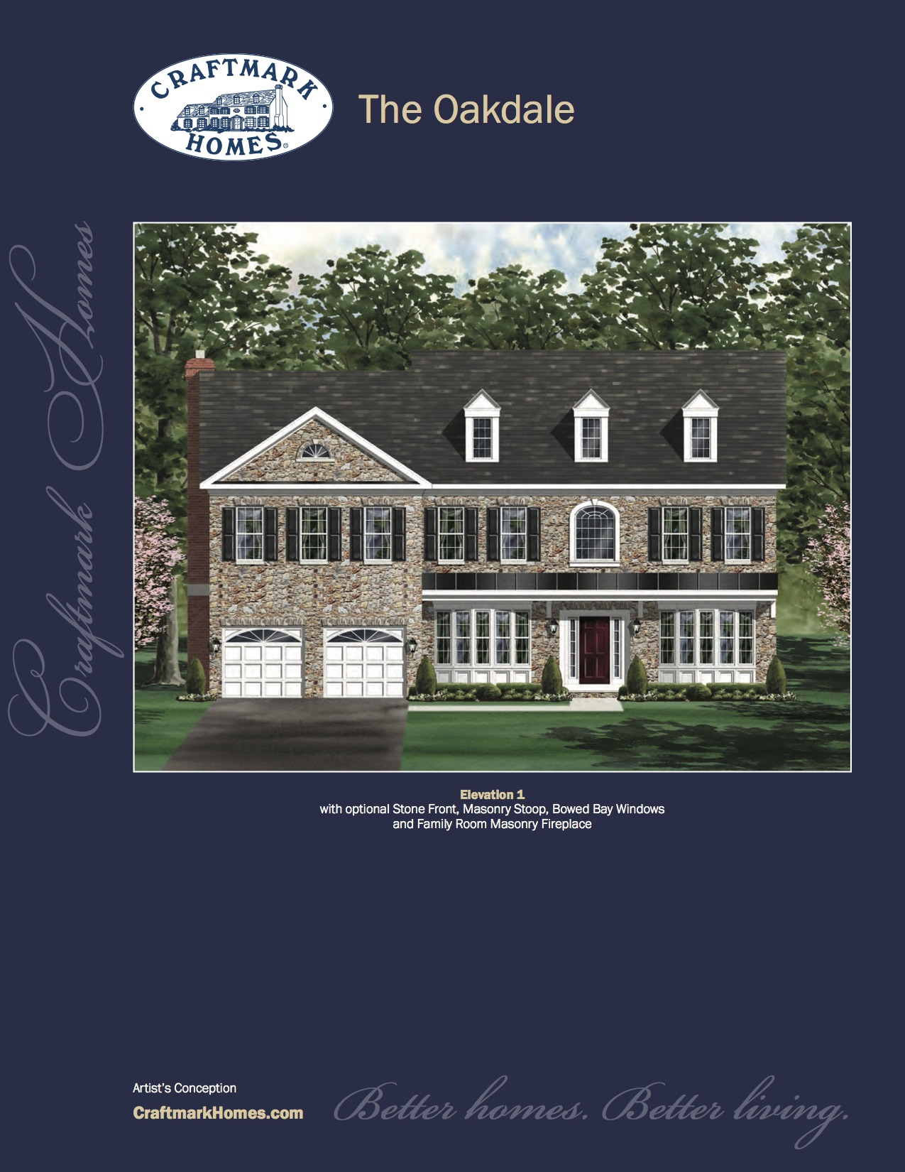 Single Family for Sale at Clarksburg Village (Single Family Homes)-The Oakdale 22001 Winding Woods Way Clarksburg, 20871 United States
