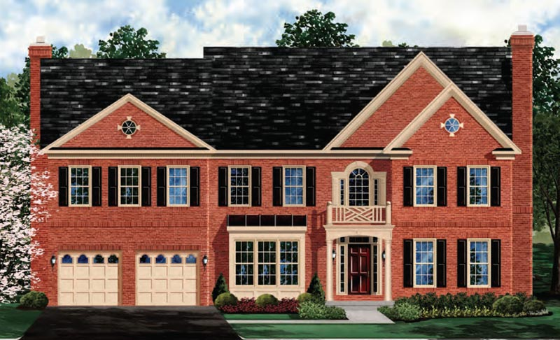 Single Family for Sale at The Preserve At Woodmore Estates-The Oakton 2709 Margary Timbers Ct. Bowie, Maryland 20721 United States