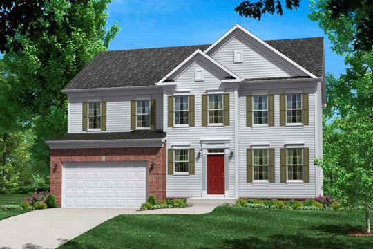 Single Family for Sale at Poplar Run-The Danfield 13204 Moonlight Trail Dr. Silver Spring, Maryland 20906 United States
