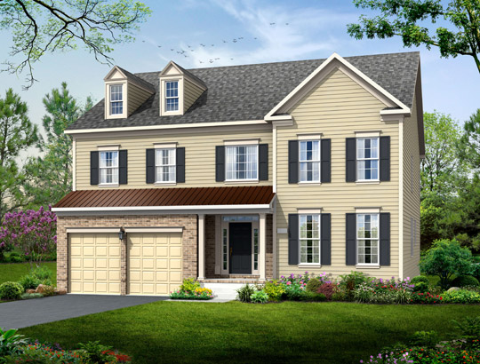 Single Family for Sale at Poplar Run-The Prescott 13204 Moonlight Trail Dr. Silver Spring, Maryland 20906 United States