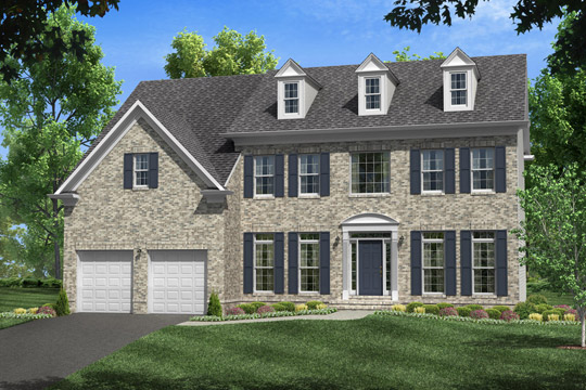 Single Family for Sale at Poplar Run-The Garrett 13204 Moonlight Trail Dr. Silver Spring, Maryland 20906 United States