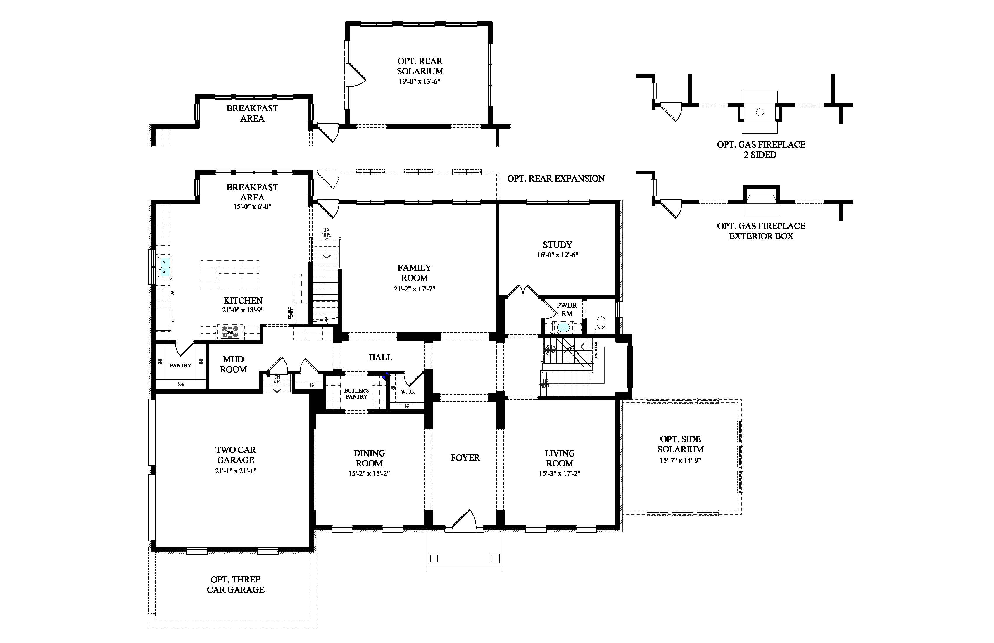 Beazer homes aspen floor plan for Aspen homes floor plans