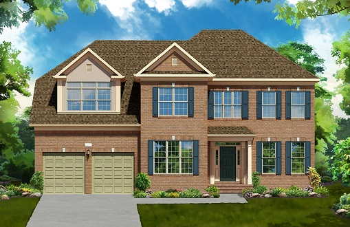 Additional photo for property listing at West Park At Brambleton-The Oxford Ii 42233 Majestic Knolls Ashburn, Virginia 20148 United States