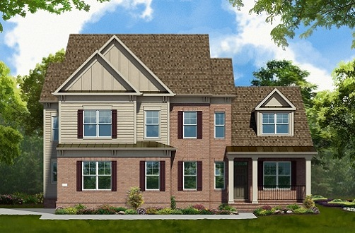 Single Family for Sale at West Park At Brambleton-The Asheville 42233 Majestic Knolls Ashburn, Virginia 20148 United States