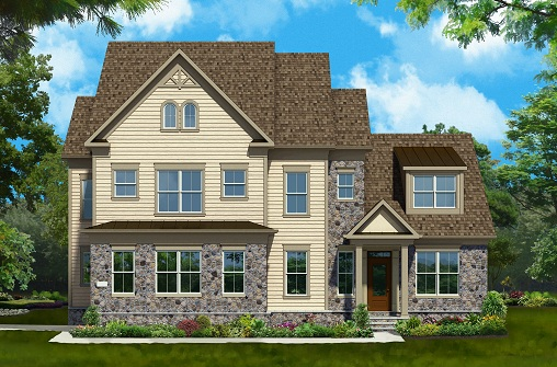 Additional photo for property listing at West Park At Brambleton-The Asheville 42233 Majestic Knolls Ashburn, Virginia 20148 United States