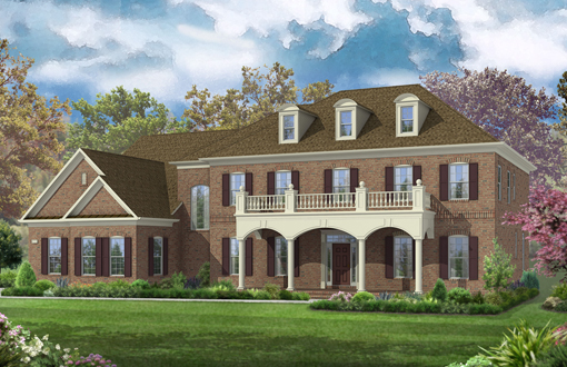 Single Family for Sale at The Reserve At Timber Lake-The Harrison 11620 Verna Road Oakton, Virginia 22124 United States