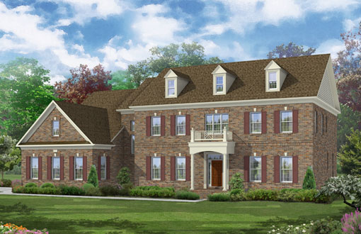 Additional photo for property listing at The Reserve At Timber Lake-The Harrison 11620 Verna Road Oakton, Virginia 22124 United States