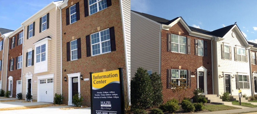 Single Family for Sale at Townhomes At Lakeside-The Brookgreen 4738 Wensel Road Fredericksburg, Virginia 22408 United States