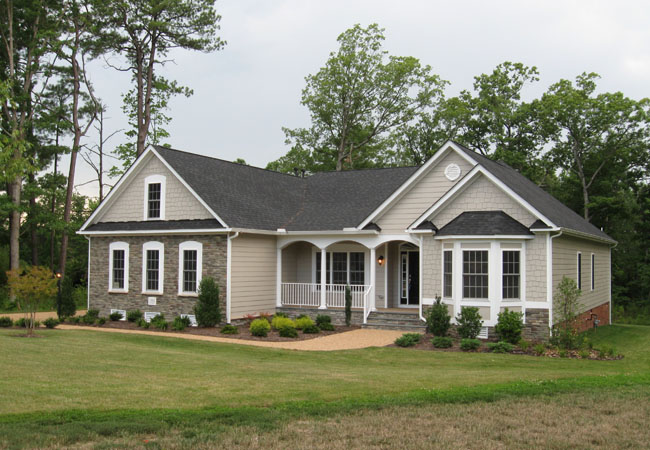 Single Family for Sale at Patriot's Landing-Blake Iv 7332 Patirots Landing Place Quinton, Virginia 23141 United States