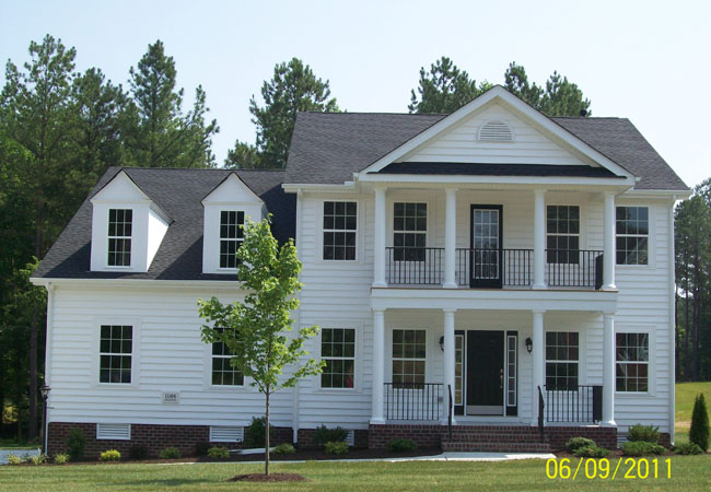 Single Family for Sale at Patriot's Landing-Bronte 7332 Patirots Landing Place Quinton, Virginia 23141 United States