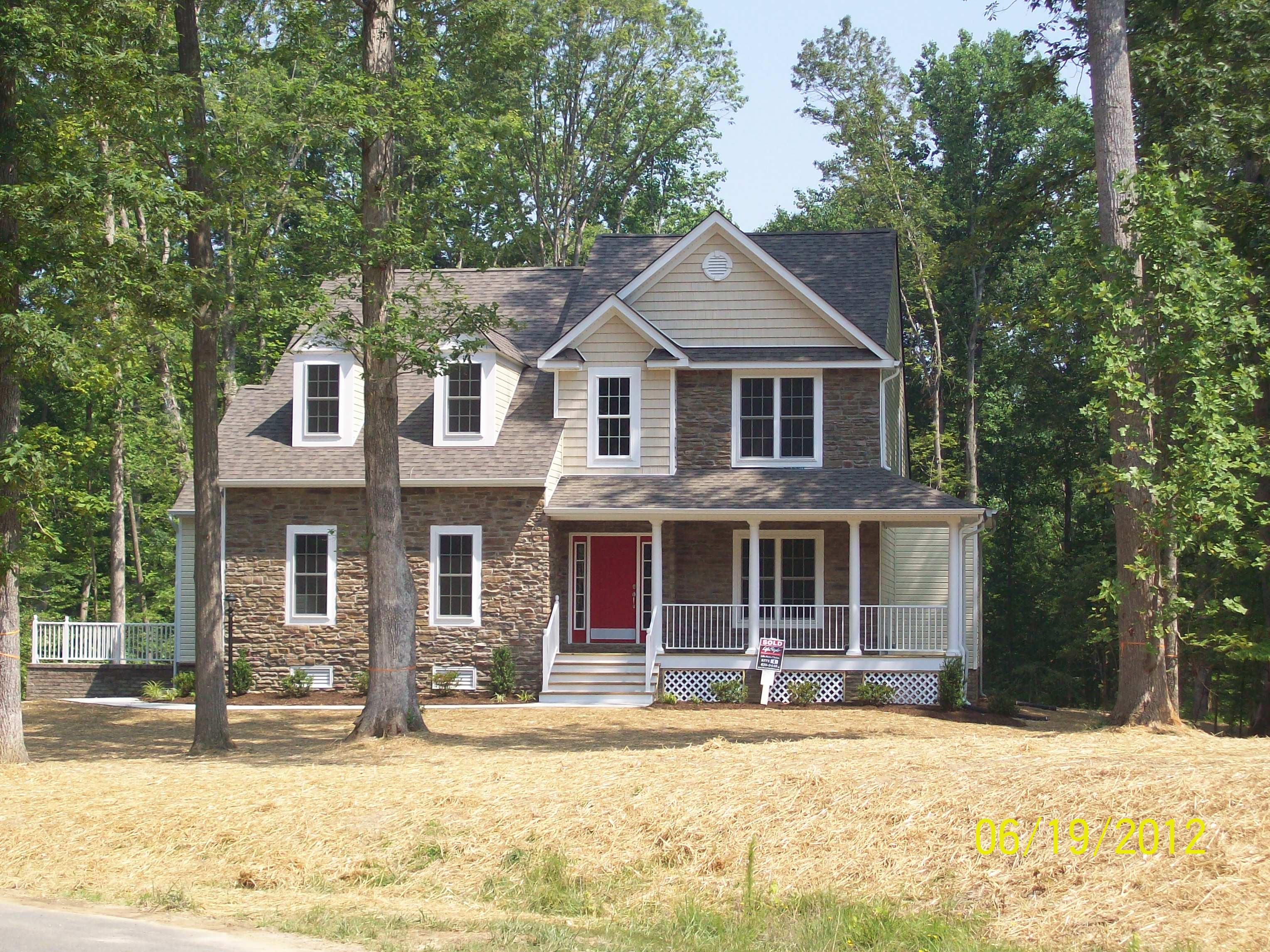 Single Family for Sale at Sanctuary At Watermill-Whitney 2624 Seabird Drive Midlothian, Virginia 23112 United States